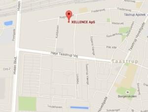 Xellence google maps